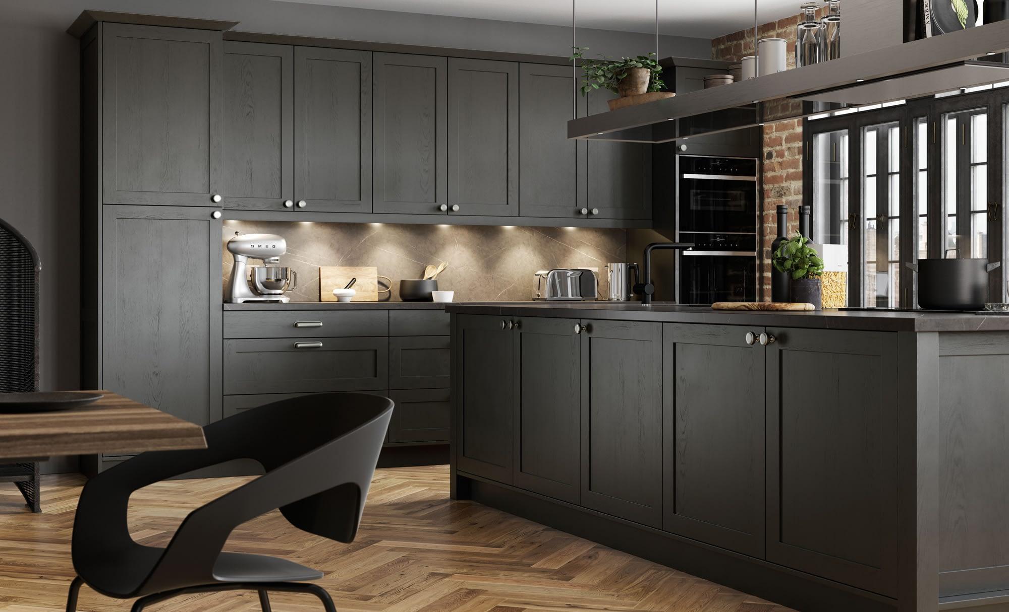 Kitchen Doors Peterborough ALDANA Graphite