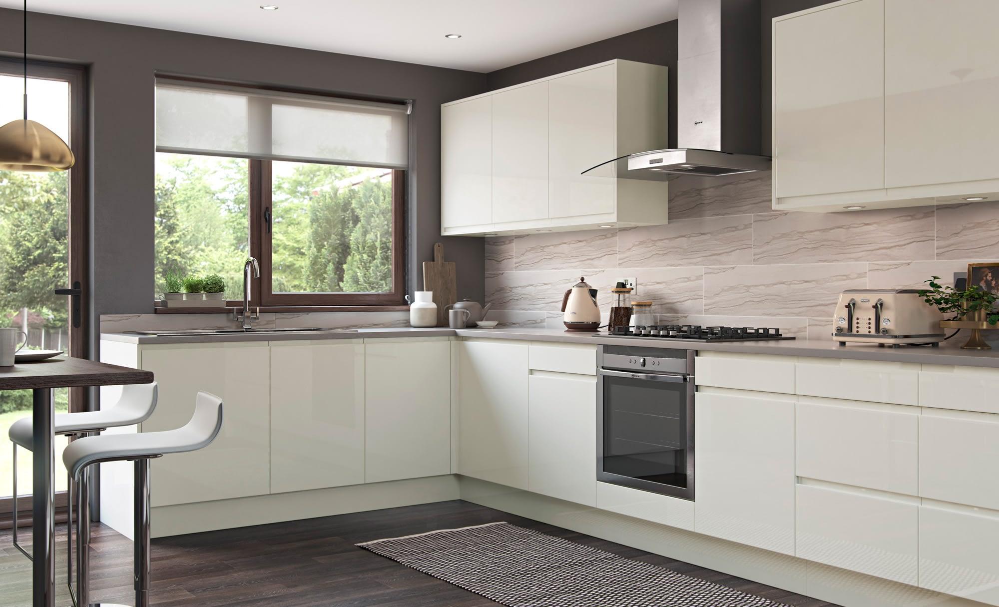 Kitchen Doors Peterborough STRADA GLOSS Porcelain
