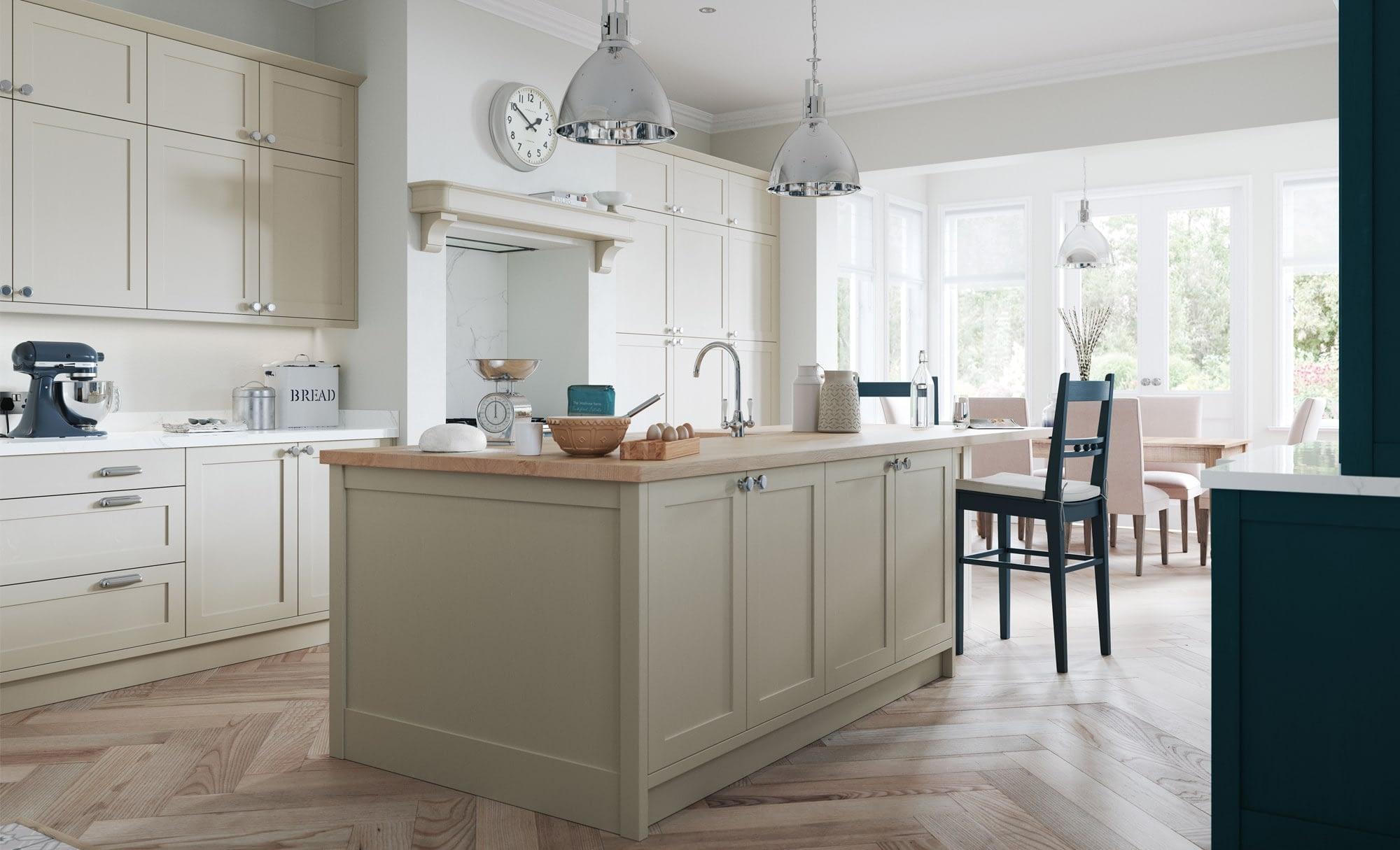 Kitchen Doors Peterborough ALDANA Stone & Marine