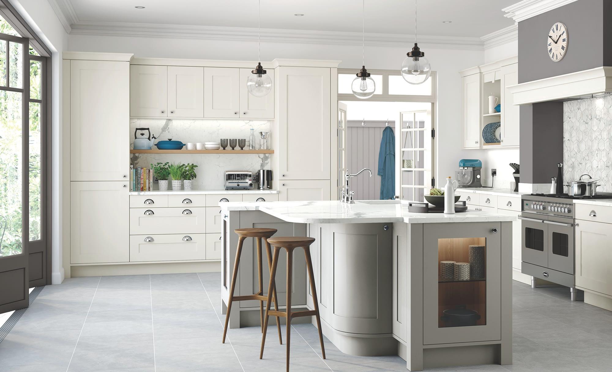 Kitchen Doors Peterborough GEORGIA Porcelain & Stone