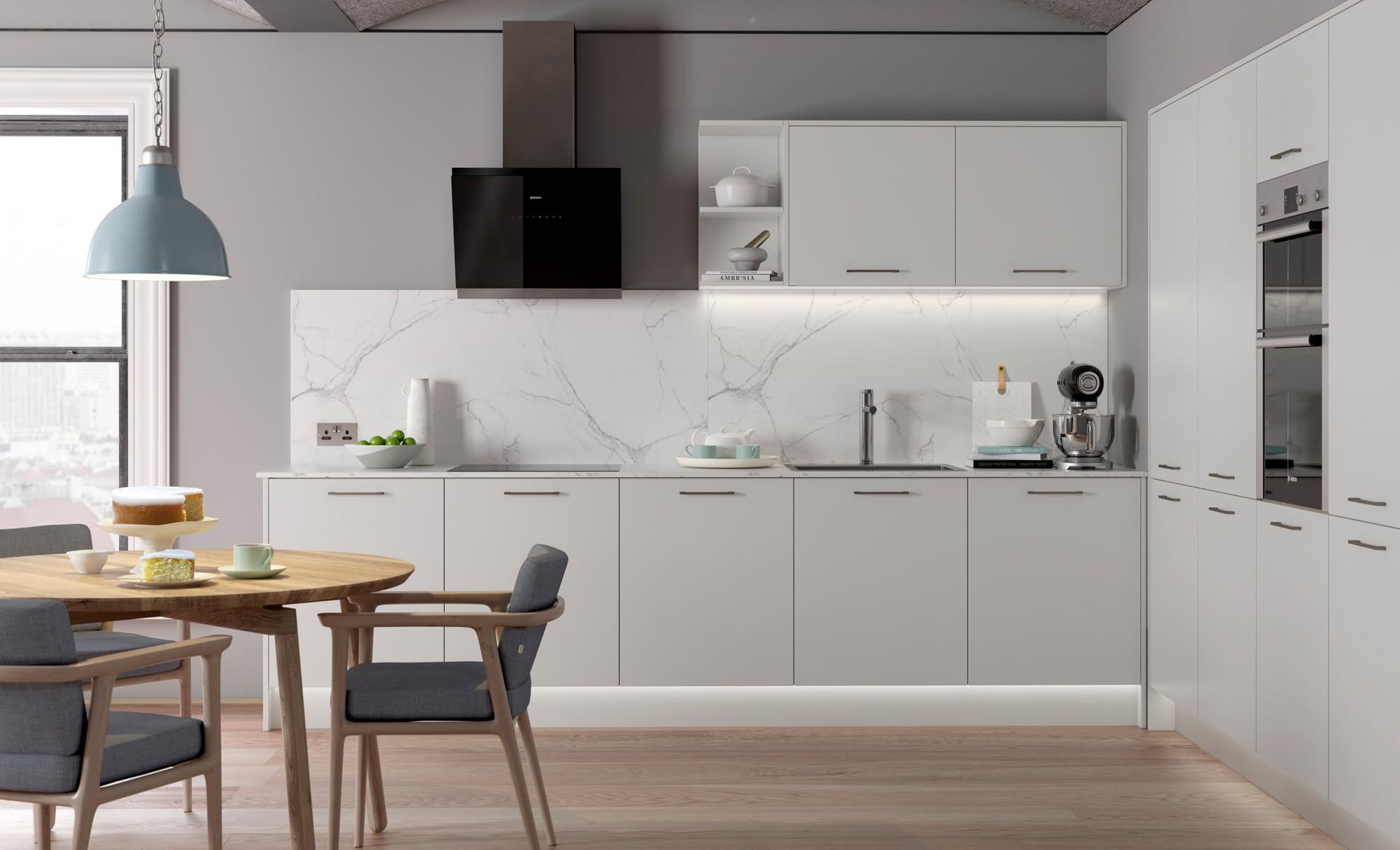 Kitchen Doors Peterborough ZOLA SOFT-MATTE Light Grey