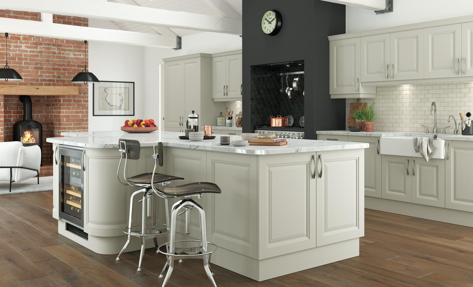 Kitchen Doors Peterborough JEFFERSON Mussel