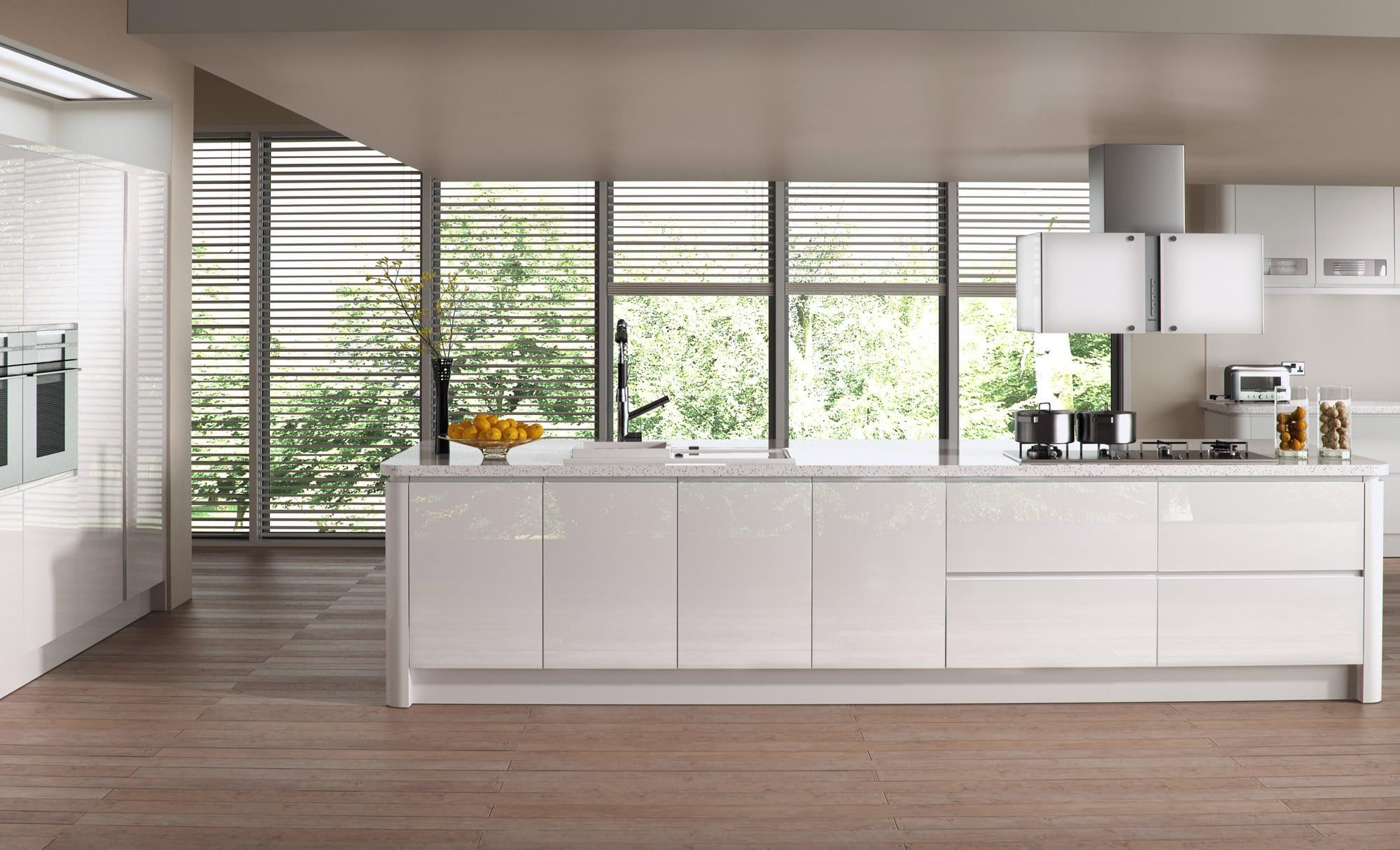 Kitchen Doors Peterborough STRADA GLOSS White