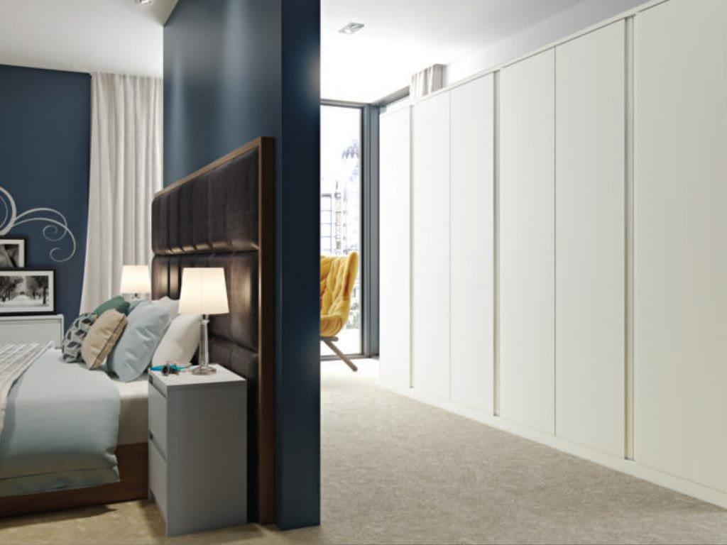 Reed fitted bedroom door