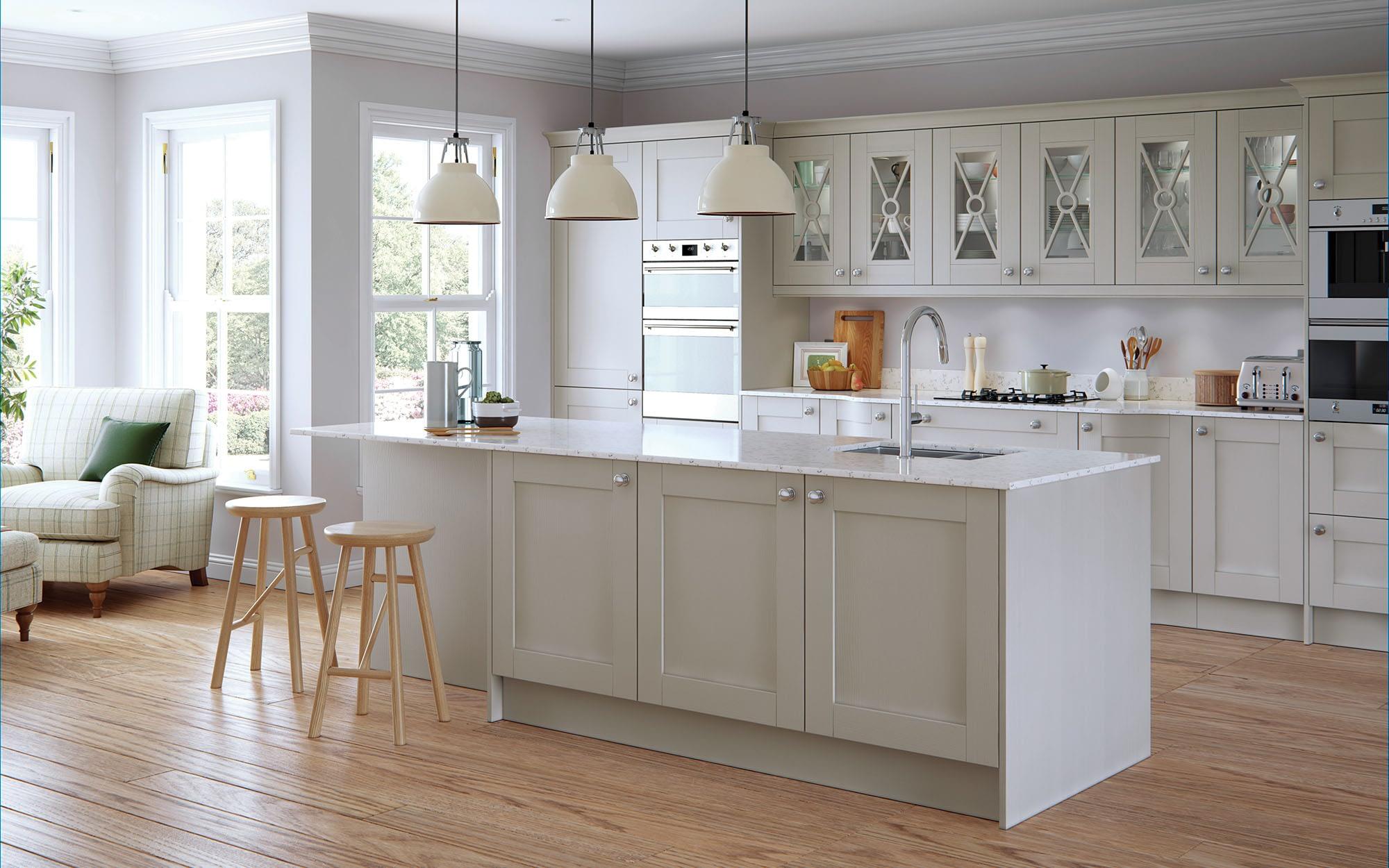 Kitchen Doors Peterborough MADISON Light Grey