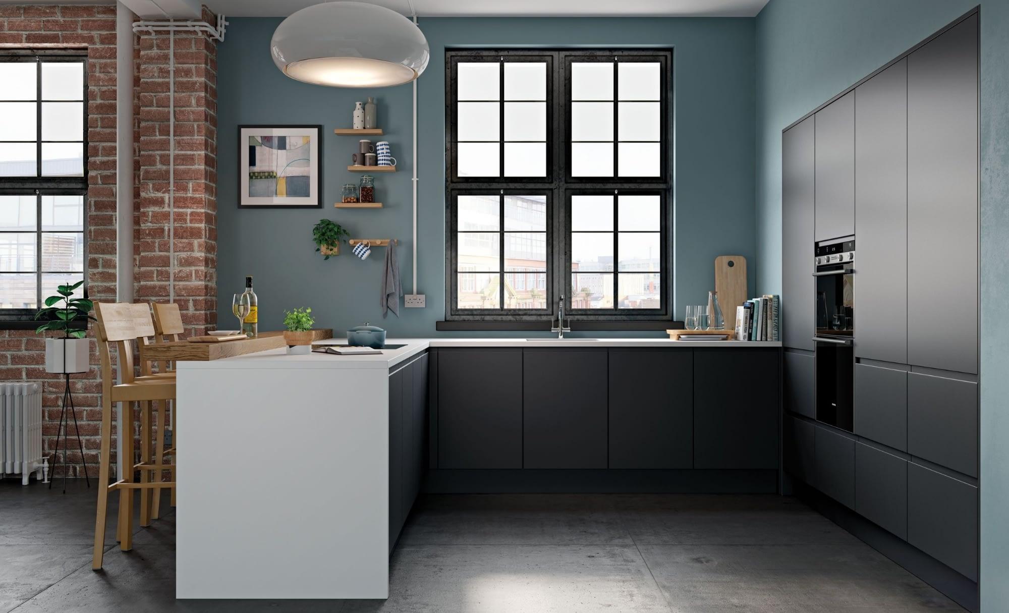 Kitchen Doors Peterborough STRADA MATTE Graphite