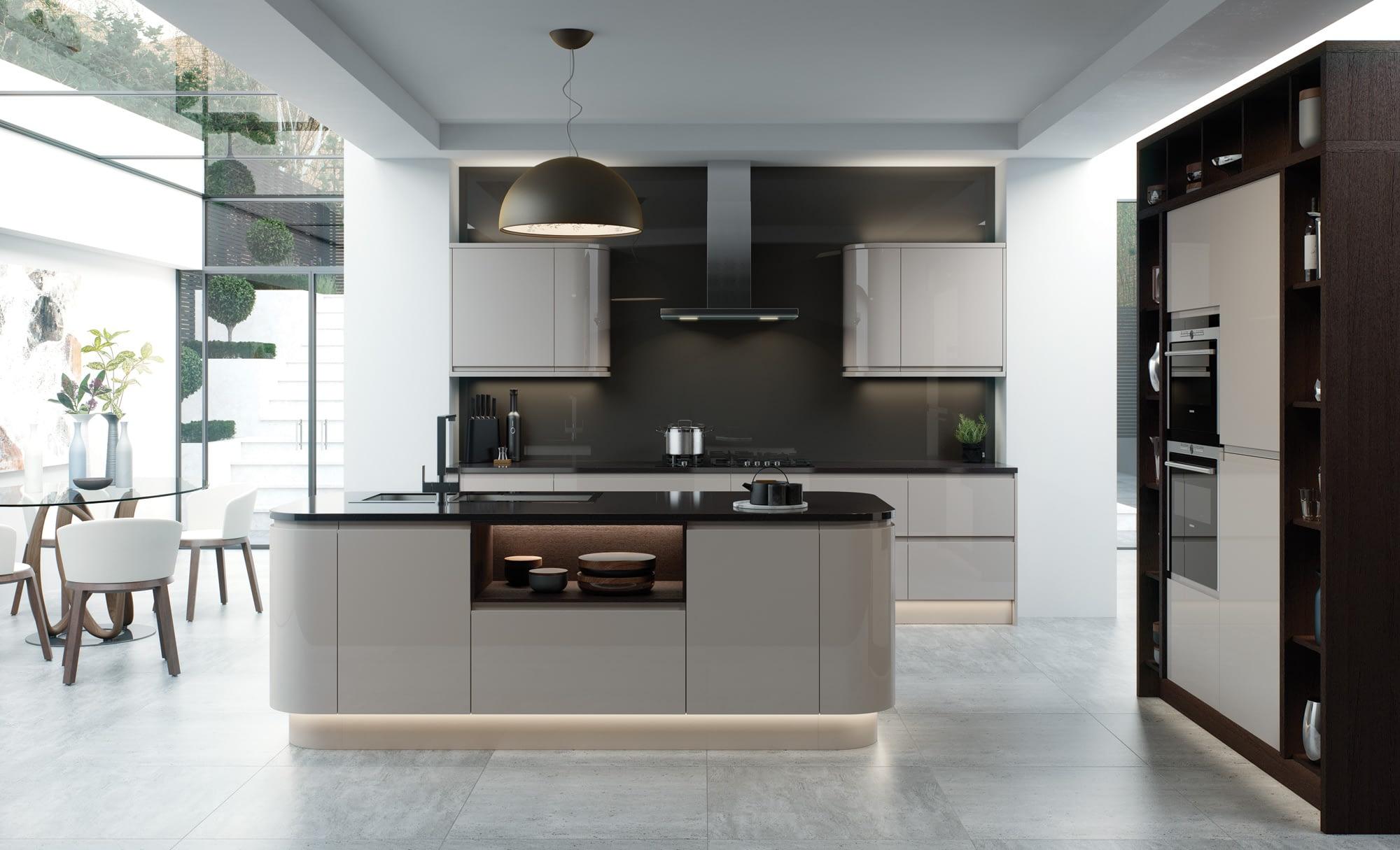 Kitchen Doors Peterborough STRADA GLOSS Cashmere